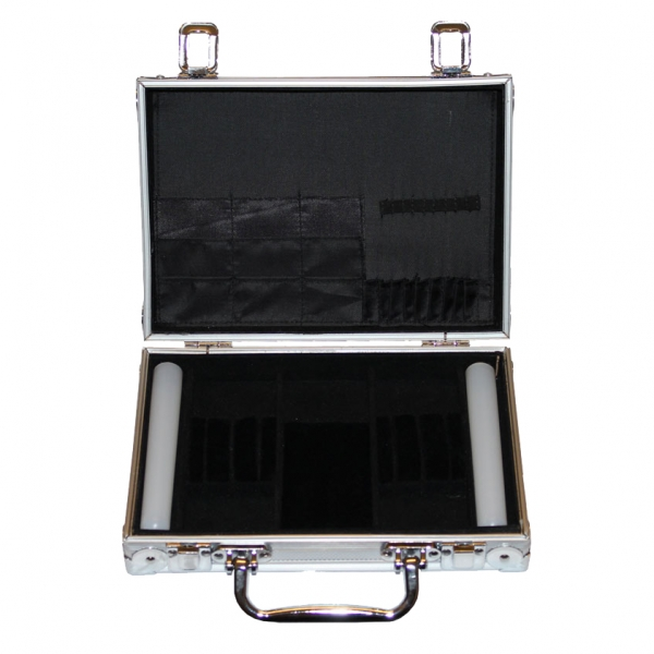 McDart aluminum case with 9 soft darts and accessories